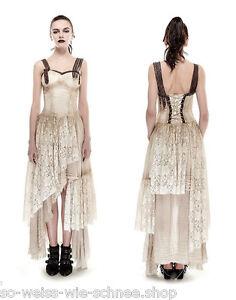 Das Bild wird geladen Punk-Rave-Steampunk-Kleid-Victorian-Gear-Dress-Gothic- 120d08a5fd