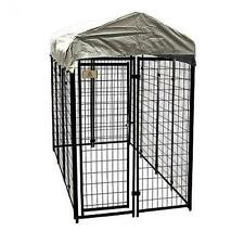Lucky Dog, 6'H x 4'W x 8'L, Uptown Welded Wire Kennel COVER INCLUDED 191667
