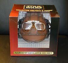 NEU! Star Wars Naboo Starfighter Helm Don Post Studios 1:1 Replikat Rar Helmet