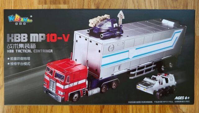 Kubianbao KBB Metal Parts Deformation Optimus MP10V MP10-V KBB Trailer