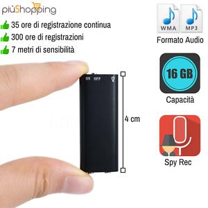 MICRO-MINI-REGISTRATORE-AUDIO-ATTIVAZIONE-VOCALE-16-GB-SPY-SPIA-AMBIENTALE-USB