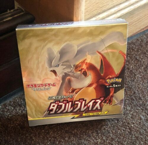Pokemon Double Blaze Japanese SM10 Booster Box Factory Sealed 30 Packs