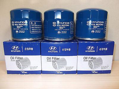 GENUINE HYUNDAI TRAJET MPV V6 2.7L PETROL ALL MODEL OIL FILTER VALUE PACK (6EA)