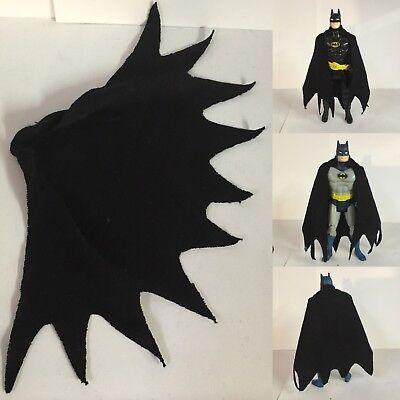 DC Kenner super pouvoirs Batman Replica Noir Cap Cape uniquement