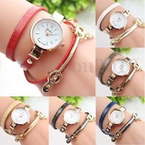 Fashion-Women-Ladies-Analog-Quartz-PU-Leather-Band-Bracelet-Bangle-Wrist
