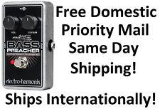 New Electro-Harmonix Bass Preacher Bass Guitar Compressor Sustainer Pedal!