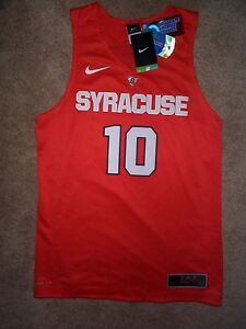 120-NIKE-Syracuse-Orange-STITCHED-SEWN-Jersey-Adult-MEN-MEN-039-S-MENS-s-small