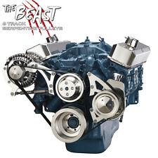Small Block Chrysler Serpentine Pulley Kit 318 340 360 Mopar Power Steering