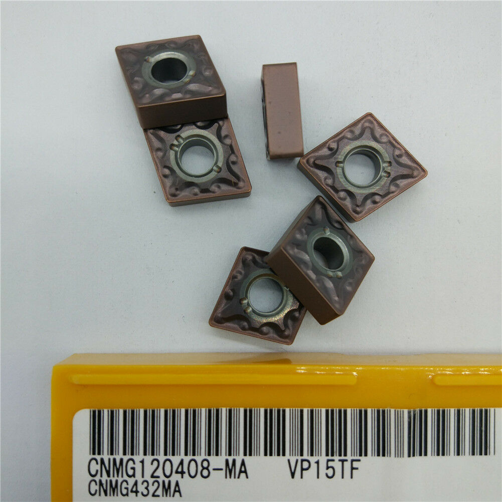 10pcs  CNMG120408-MA CNMG432MA VP15TF New Carbide Inserts for stainless steel