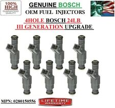 1996-2004 Ford Mustang 4.6L V8 OEM Fuel Injectors 8unit 4hole 30LB III-GEN Bosch