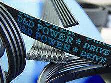D/&D PowerDrive 200J4 Poly V Belt