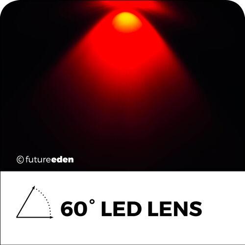 Objektive für 1w 3w Leds 45 60 90 100 Grad Winkel Aquarium Wachsen Licht Linse