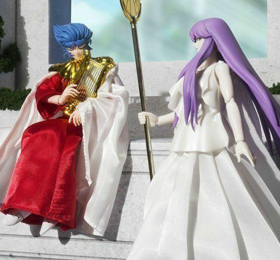 Saint Cloth Myth Saint Sei Shinku no Shoyo Legend Sun Akami Abel /& Goddess Athen