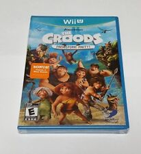 Croods: Prehistoric Party (Nintendo Wii U, 2013) Rare Brand New