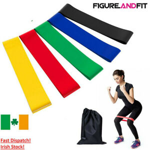 Resistance-Bands-Exercise-Loop-Crossfit-Strength-Weight-Training-Fitness-5pcs