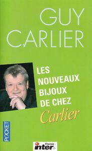 Livre-Poche-les-nouveaux-bijoux-de-chez-Carlier-Guy-Carlier-book