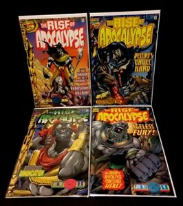 RISE-OF-APOCALYPSE-1-4-2-3-1st-Print-Origin-Marvel-Comics-Lot-1996