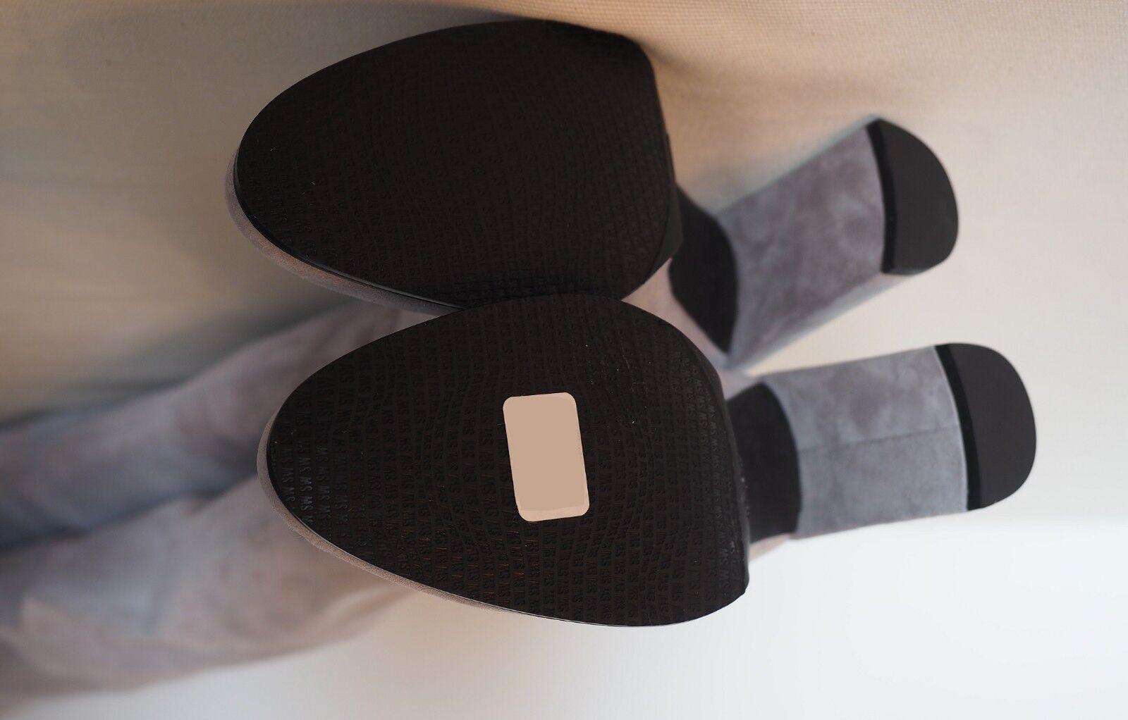 BNIB  STUART WEITZMAN WEITZMAN WEITZMAN - Hiline Over The Knee Perla Suede Boots - 40 0105d3