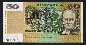 Australia-R-508-1983-50-Dollars-Johnston-Stone-aU-UNC