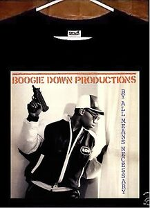 Boogie Down Productions T shirt; Boogie Down Productions KRS One T Shirt