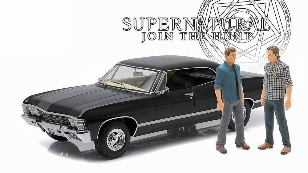Chevrolet Impala Sedan Supernatural 2 Statuette 118 1 Personaggio Damaged