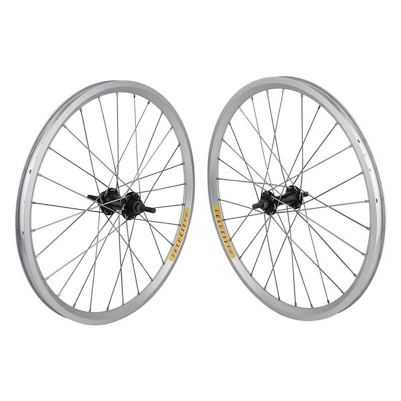20x1-1 8 Velocity Aeroheat BMX Wheels  - Flip Flop - Pair