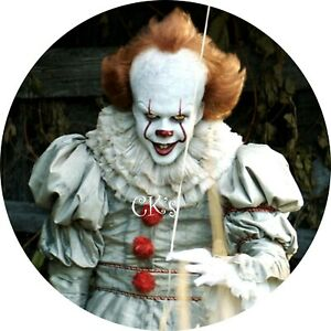 Pennywise 7 Inch Edible Image Cake & Cupcake Toppers/Party ...