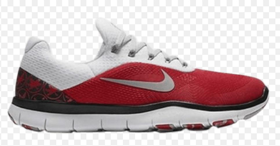 Nike Ohio State Buckeyes Free Free Free Trainer V7 Vecka noll skor AA08881 -605 Storlek 10 M USA  köp 100% autentisk kvalitet