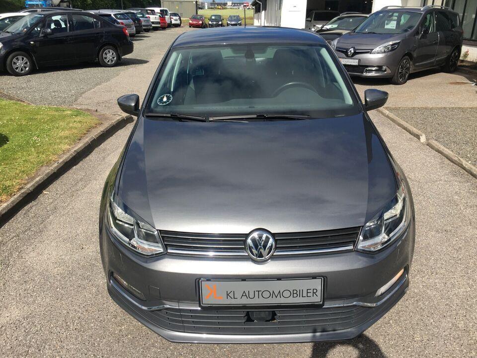 VW Polo 1,2 TSi 90 Comfortline BMT Benzin modelår 2017 km