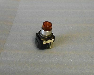 Allen Bradley Orange Push Button, 800T-PA16, Ser B, Used, Warranty