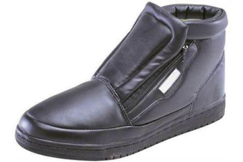 ALL WEATHER UNISEX Boots - Thermal Lining- Easy Entry Zippered Front Flap -COMFY