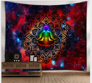 Mandala Yoga Art Pattern Tapestry Wall
