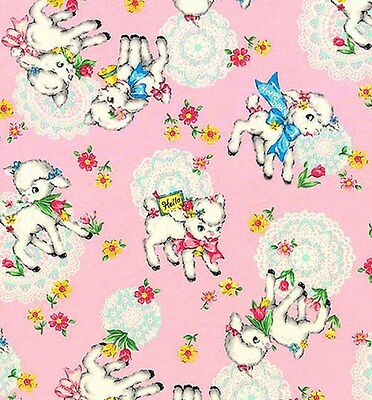❤ NEW JAPANESE IMPORT QUILTING FABRIC BABY NURSERY 100% COTTON 40X55CM