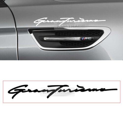 Gran Turismo Logo Graphics Vinyl Decals Custom Car Banner Sticker 1P for BMW