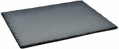 Homiu Natural Slate Place-Mats Serving Board Canape/'s  30x20 cm Pack Of 4