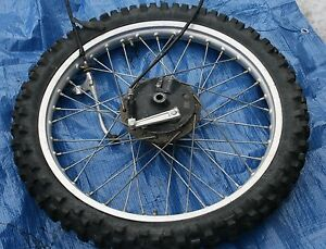 Image Is Loading 1982 YAMAHA IT 175 FRONT TIRE RIM W