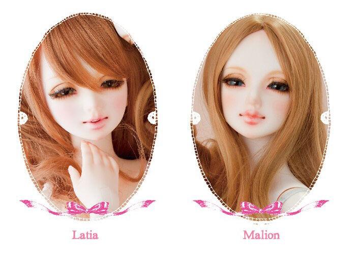 BJD 1 3 unoa Latia (Head sculp C) con ojos gratuito Face Up