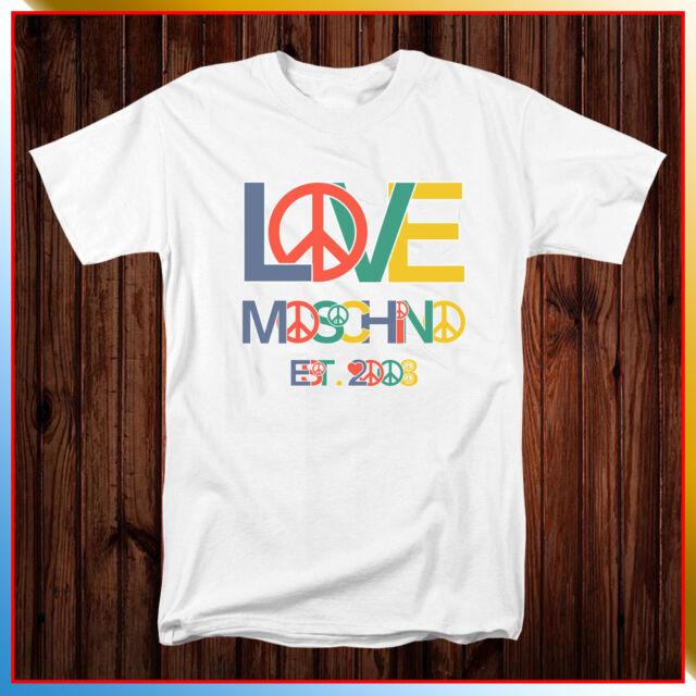 New Moschino Love Moschino Men/'s T-Shirt tee Size S-2XL