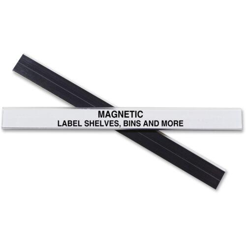 "C-Line Label Holder Magnetic f// Shelf//Bin 1//2/""x6/"" 10//BX Clear 87207"