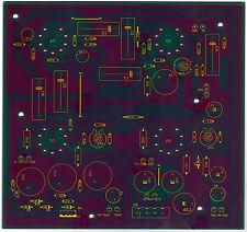 EL 84 PP Amp Leiterplatte zum bau eines Rörenverstärkers