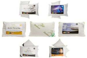 Hotel-Quality-Egyptian-Stripe-Pillows-Luxury-Soft-Hollowfibre-Filled-Microfibre