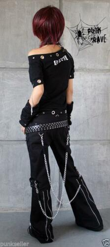 Punk Gothic womens mens harem pants Trousers hip hop Casual Visual Kei Rock