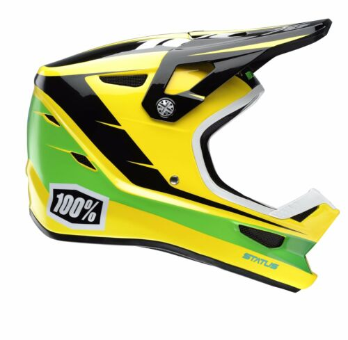 100% Status Full Face Helmet 2017 All Colours Downhill Mountain Bike BMX MTB