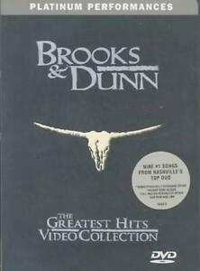 BROOKS AND DUNN - THE GREATEST HITS VIDEO COLLECTION NEW DVD