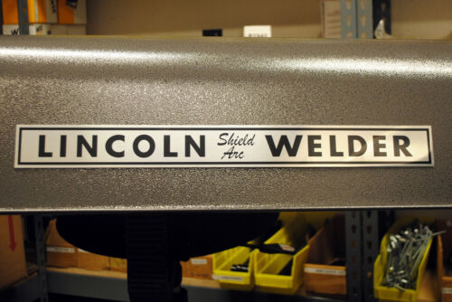 Photometal Lincoln Shield Arc Name Plate  BW690