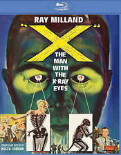 X: The Man with the X-Ray Eyes [Blu-ray], New DVDs
