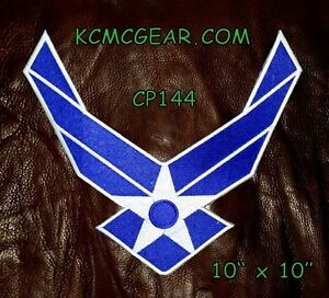 Details about AIR FORCE WINGS MODERN for Biker Motorcycle Vest Jacket Military Back Patch 10
