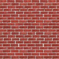 Brick Wall Backdrop Party Accessory (1 Count) (1/pkg) , New, Free Shipping on sale
