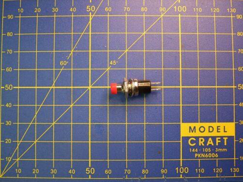 Bouton poussoir Miniature interrupteur contact momentané OFF//ON   1A 0 à 250 V