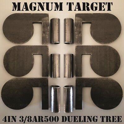 """AR500 Steel Target Soda Pop Bottle 3//8/"""" Set Of 5"""